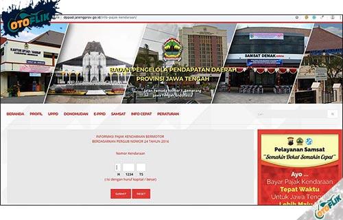 Lewat Website Resmi Online