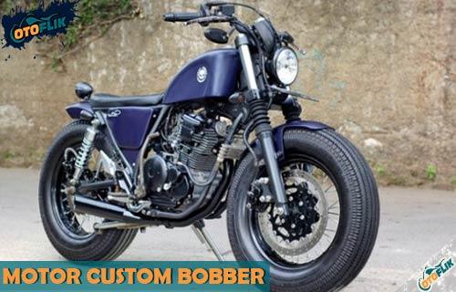Motor Custom Bobber dari Sejarah dan Biaya