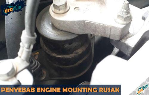 Penyebab Engine Mounting Rusak