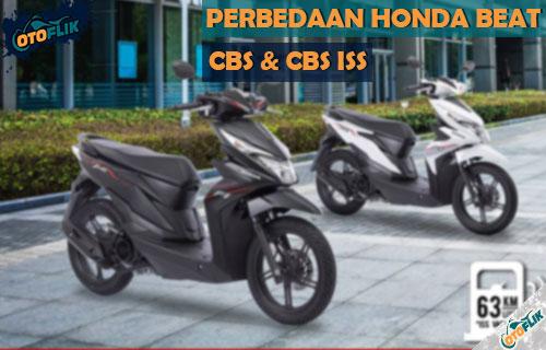 Perbedaan Honda Beat CBS dan CBS ISS Terlengkap