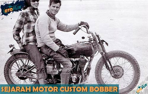 Sejarah Motor Custom Bobber