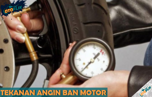 Tekanan Angin Ban Motor Matik Bebek dan Sport Paling Ideal