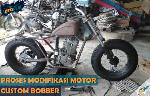 Waktu Pengerjaan Modifikasi Motor Custom Bobber