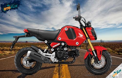 Honda MSX 125 Grom Gayety Red