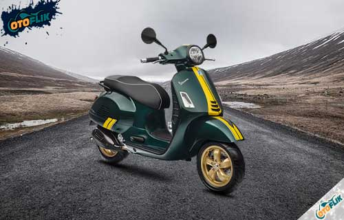 Review Vespa GTS 300 HPE Racing Sixties