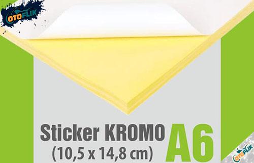 Stiker Khromo
