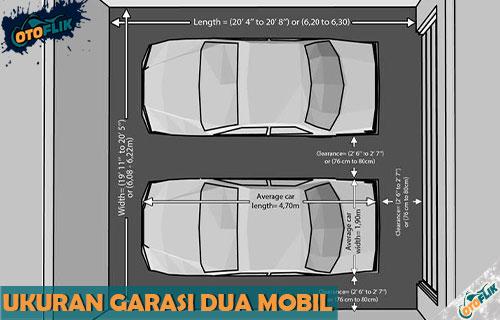 Ukuran Garasi Dua Mobil