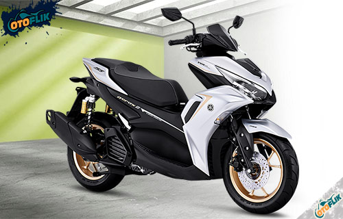 All New Yamaha Aerox 155 Connected ABS Prestige Silver Edition