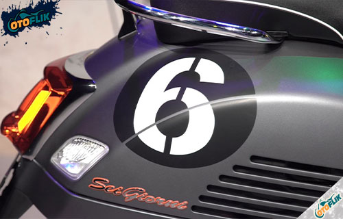 Desain Motor Vespa GTV Sei Giorni II Edition