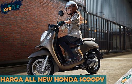 Harga All New Honda Scoopy Serta Review Spesifikasi dan Warna Terbaru