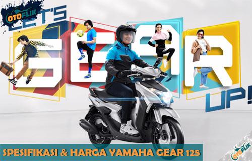Harga Yamaha Gear 125 dari Reviw Spesifikasi dan Warna