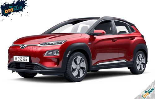 Hyundai Kona Electric Pulse Red