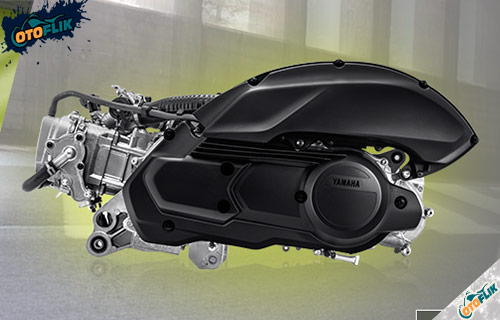 Performa Mesin Yamaha Aerox 155 Connected