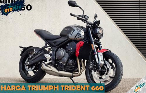 Review Spesifikasi dan Harga Triumph Trident 660 Terbaru
