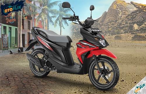 Suzuki Nex Crossover Stronger Red Titan Black