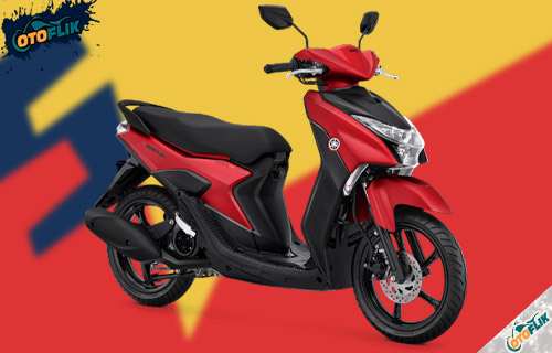 Yamaha Gear 125 S Version Matte Red