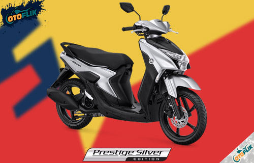 Yamaha Gear 125 S Version Prestige Silver