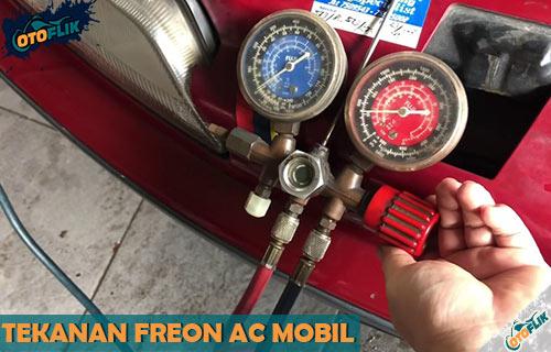 Bahaya dan Cara Mengukur Tekanan Freon AC Mobil