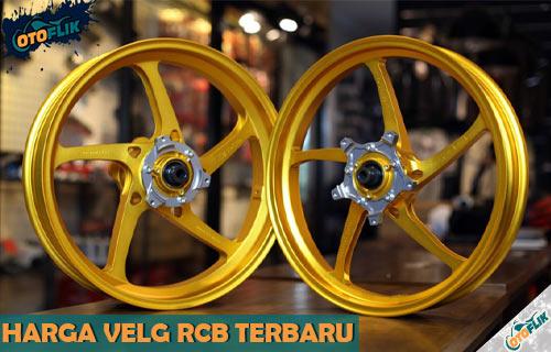 Daftar Harga Velg RCB Motor Terbaru Semua Ukuran