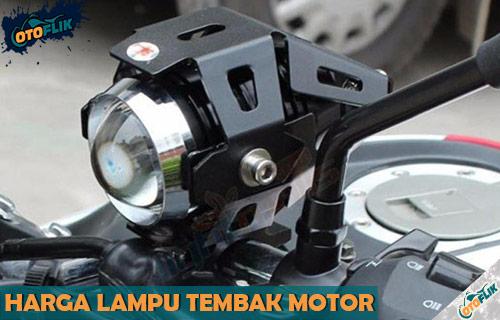 Harga Lampu Tembak Motor