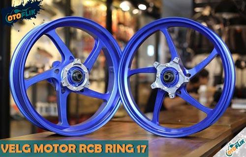 Harga Velg Motor RCB Ukuran Ring 17