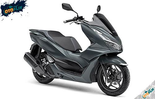 Honda PCX 160 Poseidon Black Metallic