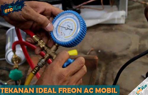 Tekanan Freon AC Mobil Ideal
