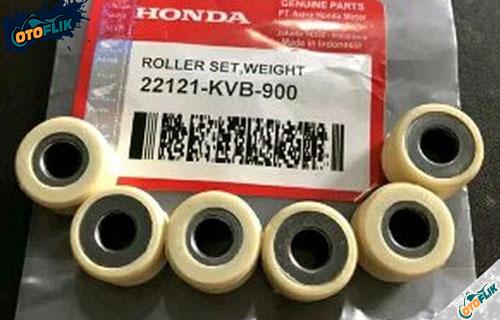 Ukuran Berat Roller Matic Honda