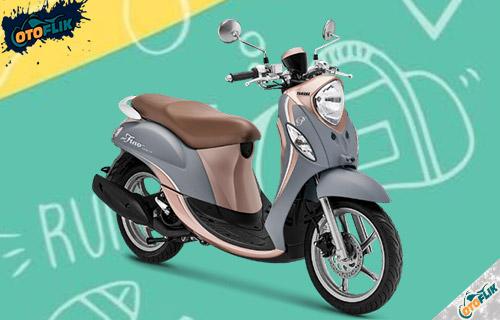 Yamaha Fino Premium Creamy Grey