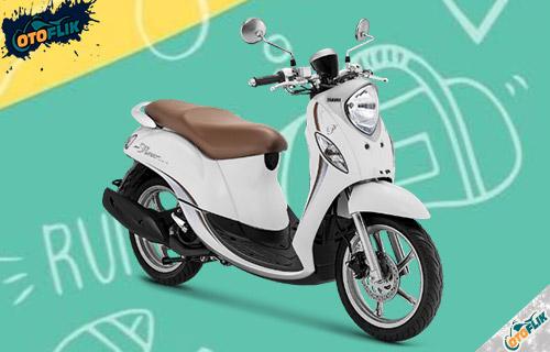 Yamaha Fino Premium White Latte