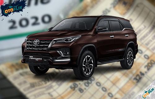 Biaya Pajak Toyota Fortuner Tahunan