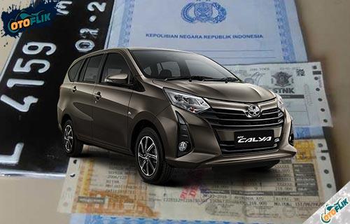 Daftar Pajak Mobil Toyota Calya 5 Tahunan