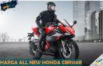 Harga All New Honda CBR150R Terbaru