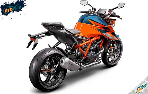 KTM Super Duke 1290 R Orange