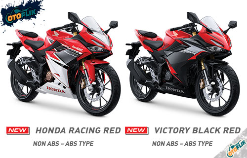 PIlihan Warna All New Honda CBR150R