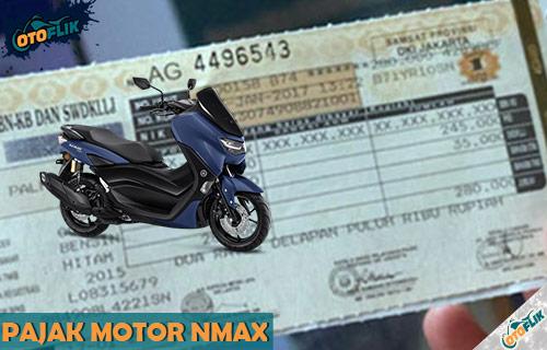 Pajak Motor Namx ABS non ABS Semua Tahun Produksi