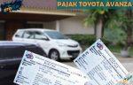Pajak Toyota Avanza Tahunan 5 Tahunan Denda