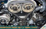 Perbedaan Timing Belt dan Timing Chain