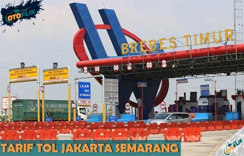 Rincian Tarif Tol Jakarta Semarang Semua Golongan Terbaru