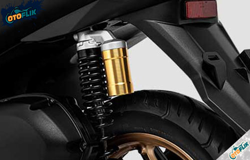 Suspensi Belakang Yamaha Lexi