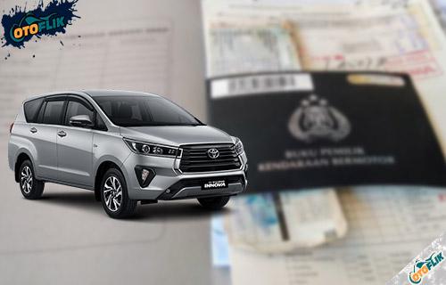 Tarif Pajak Toyota Innova 5 Tahunan