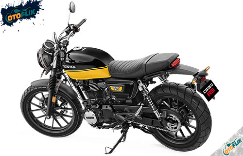 CB350 RS Black With Pearl Sport Yellow