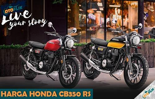 Harga Honda CB350 RS Terbaru Review dan Spesifikasi Lengkap