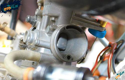 Karburator Terkena Air