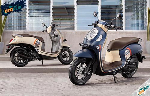 Motor Honda Scoopy Generasi Terbaru