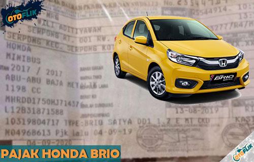 Pajak Honda Brio Pertahn Semua Tipe dan Tahun Produksi