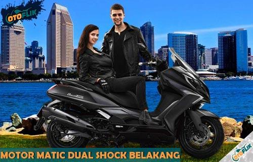 Rekomendasi Motor Matic Dual Shock Belakang Terbaik di Indonesia