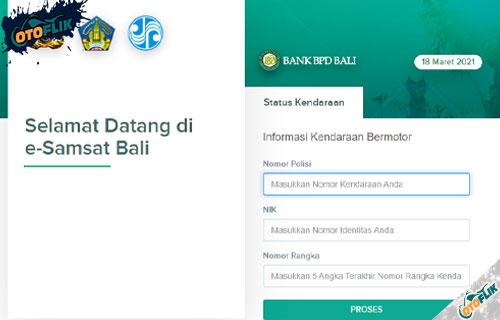 Cek BPKB Bali