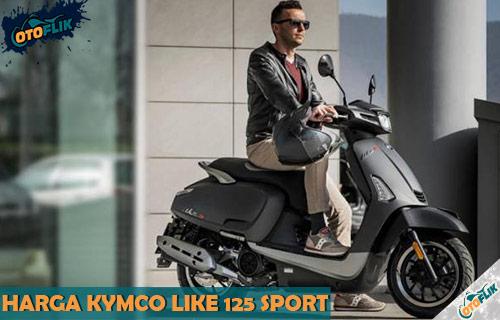 Harga Kymco Like 125 Sport