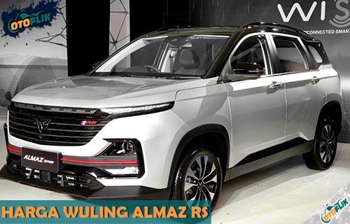 Harga Wuling Almaz RS Terbaru Beserta Spesifikasi dan Fitur